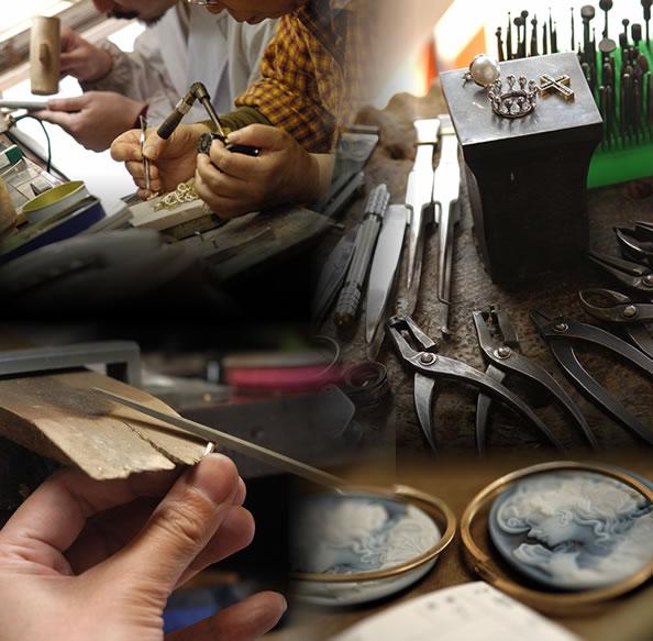 河野貴金属製作所工房イメージ